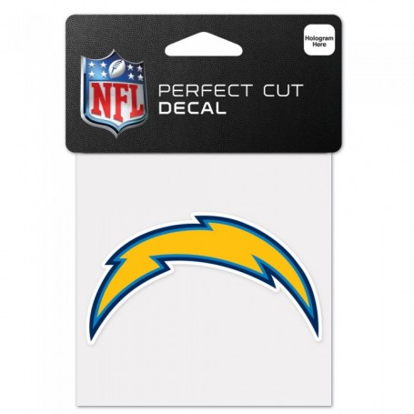 "San Diego Chargers 4"" x 4"" Logo Decal"